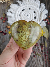 Load image into Gallery viewer, Green Opal Heart