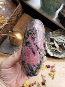 Rhodonite Free Form