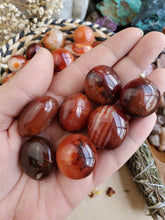 Load image into Gallery viewer, Carnelian Agate Pocket Stone