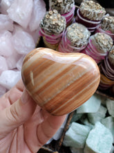 Load image into Gallery viewer, Polished Aragonite Heart