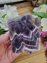 Load image into Gallery viewer, Chevron Amethyst Slab