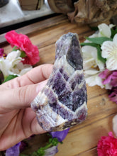 Load image into Gallery viewer, Raw Chevron Amethyst Point