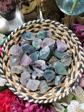 Load image into Gallery viewer, Rough Rainbow Fluorite