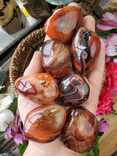 Load image into Gallery viewer, Sardonyx Agate Pocket Stone