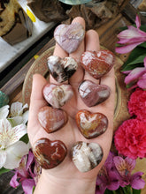 Load image into Gallery viewer, Petrified Wood Hearts