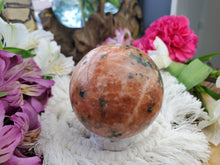 Load image into Gallery viewer, Orchid Calcite Sphere