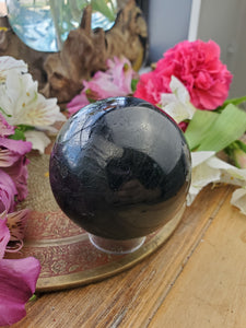 Black Tourmaline Sphere