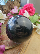 Load image into Gallery viewer, Black Tourmaline Sphere