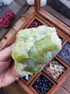 Rough Green Opal