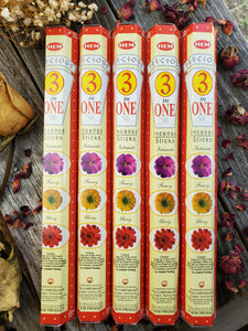 """3 In 1"" Incense Sticks"