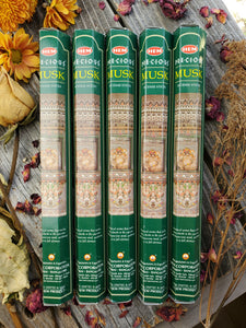 """Precious Musk"" Incense Sticks"