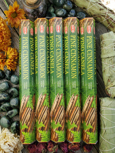 """Pine Cinnamon"" Incense Sticks"