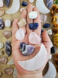 Lunar Love Crystal & Mineral Bundle