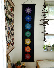 Load image into Gallery viewer, Seven Chakra Wall Banner