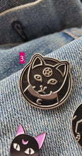 Load image into Gallery viewer, Magic Cat Enamel Pins