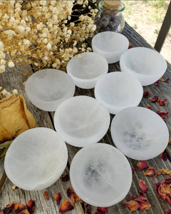 Selenite Cleansing Bowl