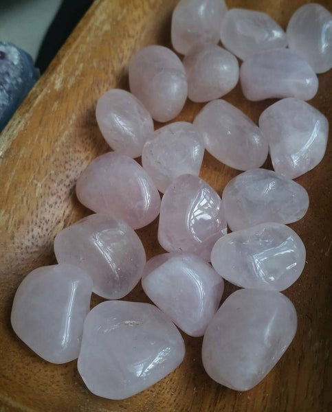 Small Tumbled Rose Quartz - SacredDivination