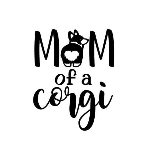 Image of Corgi Mom Iron-Ons Decal Design