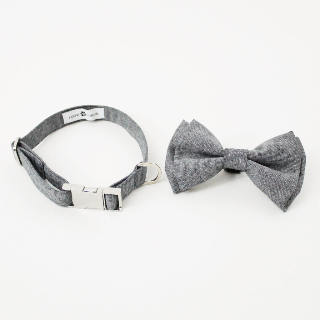 Oliver Dog Bow Tie Collar