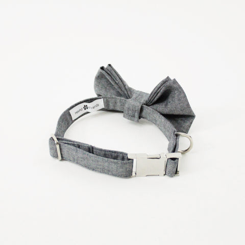 Image of Oliver Dog Bow Tie Collar