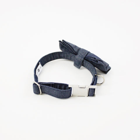 Image of Olive Dog Bow Tie Collar