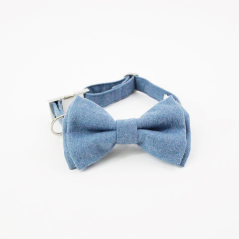 Image of Samuel Dog Bow Tie Collar