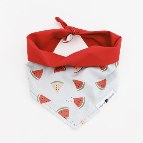 Image of Cubby Reversible Dog Bandana to match with their owners at Hound and Friends