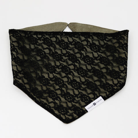 Image of Daphne Lace Reversible Bandana
