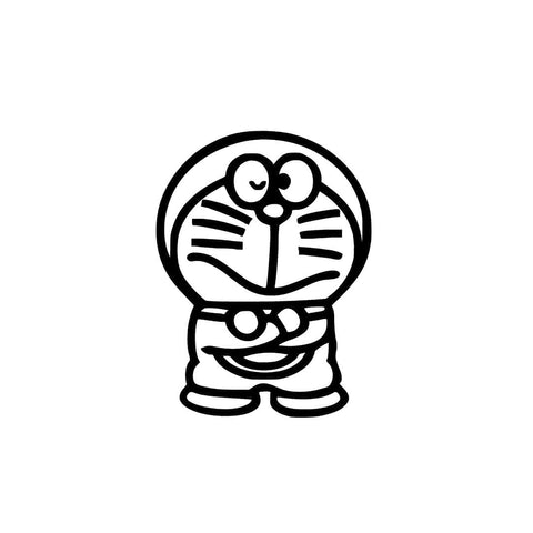 Image of Doraemon Iron-Ons Decal Design