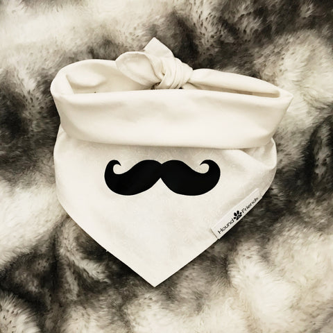 Image of Mustache Iron-Ons Decal Design