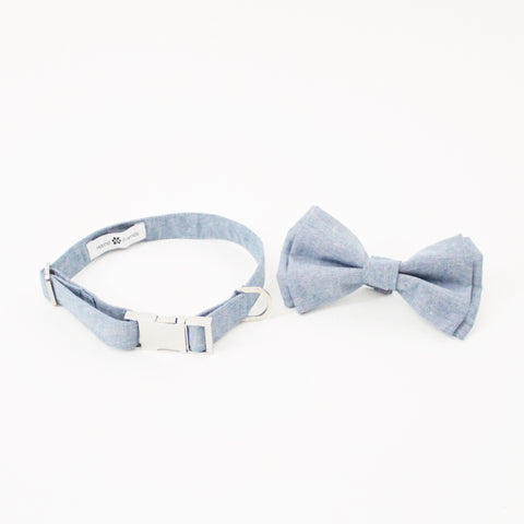 Image of Lemon Boots Dog Bow Tie Collar