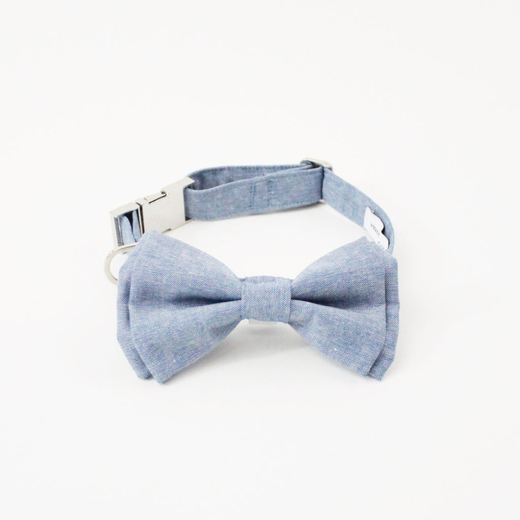 Lemon Boots Dog Bow Tie Collar