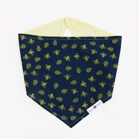 Mac Reversible Dog Bandanas to match with owners at Hound and Friends