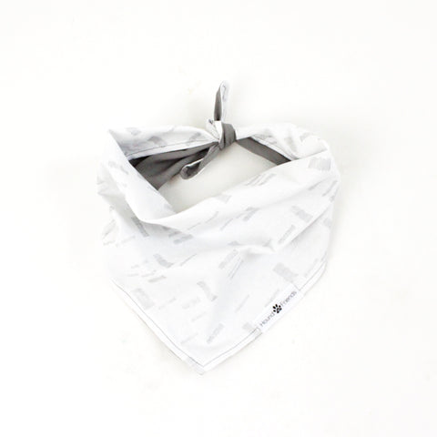 Margo Gray Reversible Tie-On Dog Bandanas and Accessories | Hound and Friends
