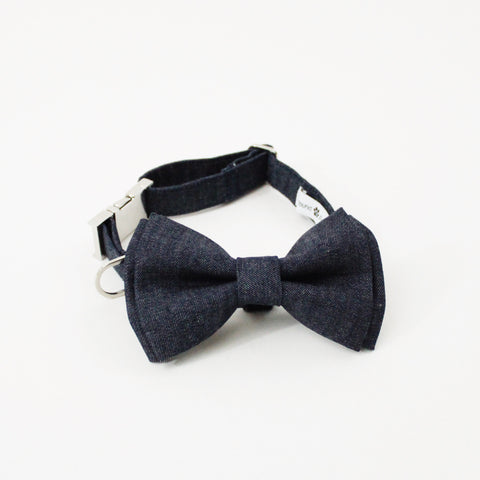 Liam Dog Bow Tie Collar