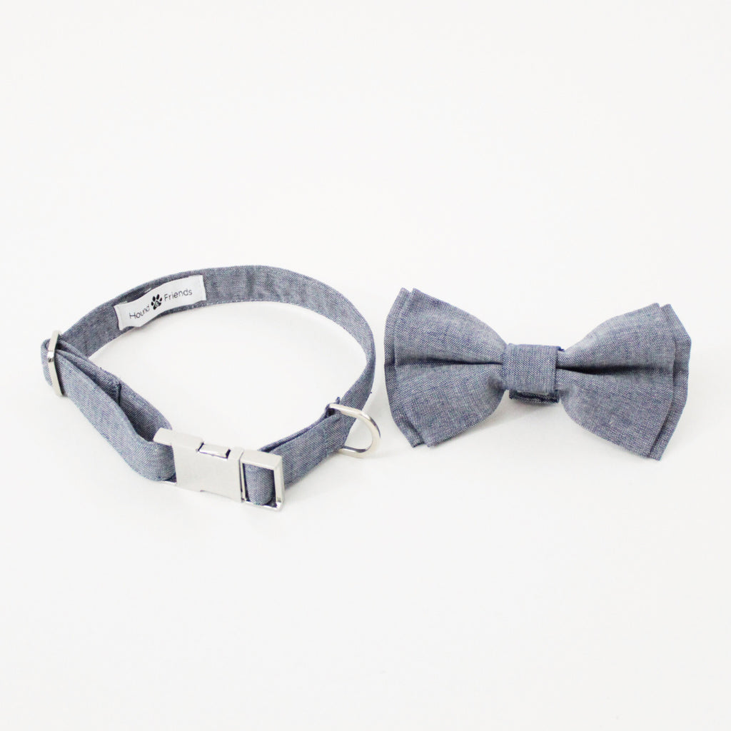Waffles Dog Bow Tie Collar