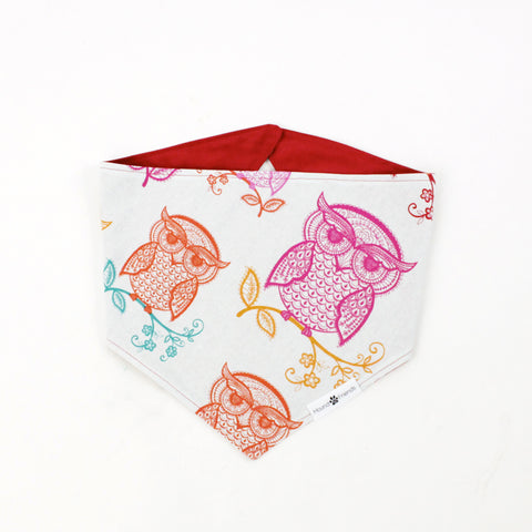 Pixie Owl Reversible Dog Bandanas and Accessories | Hound and Friends