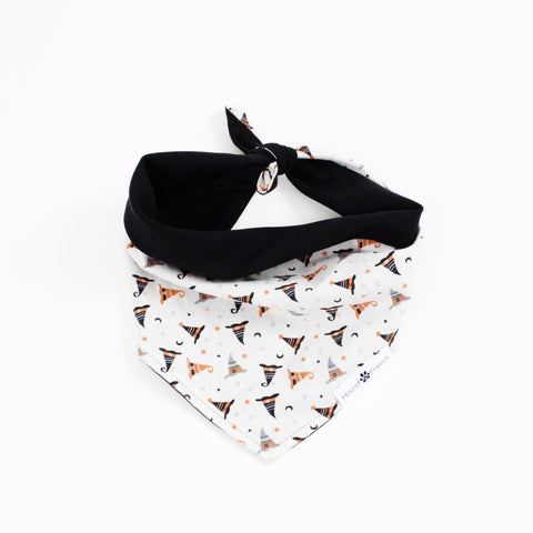 Image of Which Witches Hat? Reversible tie-on Bandana