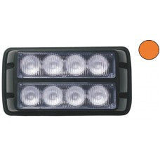 LG752 8 LED Amber Strobe Warning Light