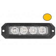 LG755 4 LED ECE R65 Grille Amber Warning Light