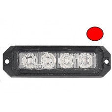 LG757 4 LED ECE R65 Grille Red Warning Strobe