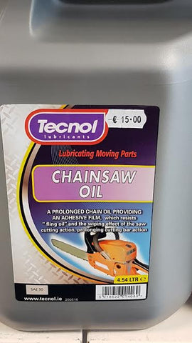 L047S123 5L Chainsaw Oil