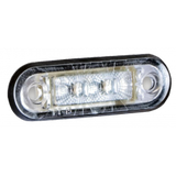 LG109 LED Clear Marker Light