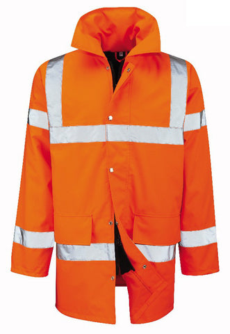 PJK12HV Hi Vis Orange Jacket