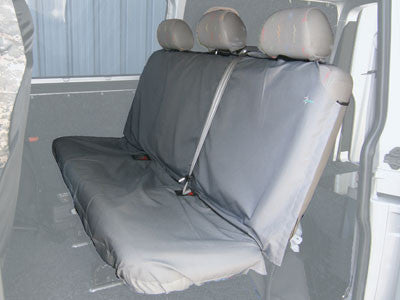 Van Crewcab Rear Seat Covers - Black