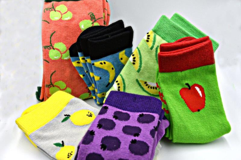 Fruit Salad Sock Box-Boxes-[fundraiser]-Jolly Soles