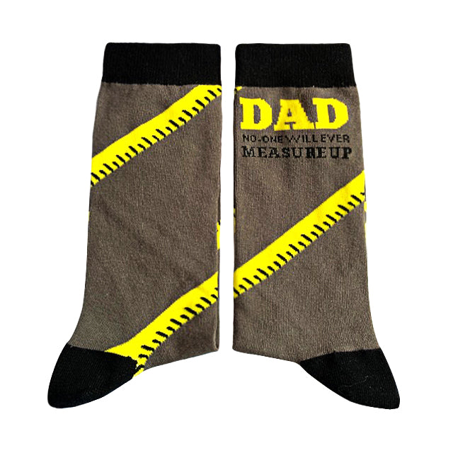 Dad - no-one will ever measure up - Large-Individuals-[fundraiser]-Jolly Soles