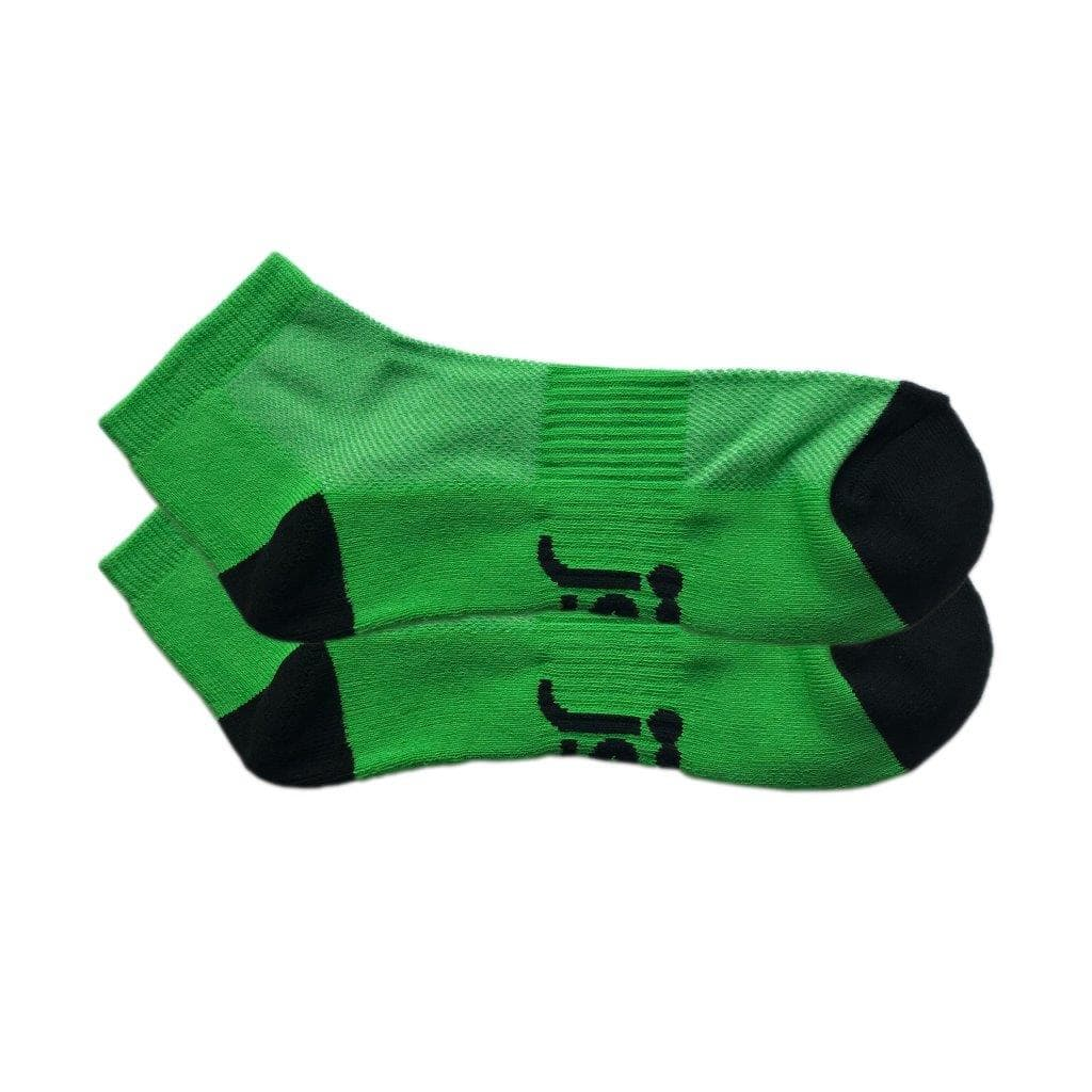 Green sports ankle sock Jolly Soles