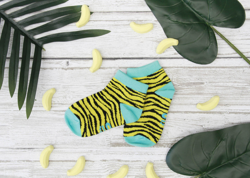 Zebra Style Ankle Socks-Individuals-[fundraiser]-Jolly Soles