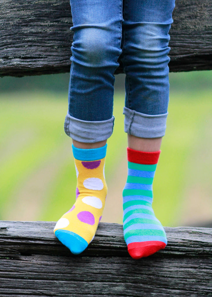 Childrens Jolly Soles crew socks